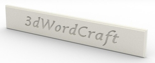 3D Wordcraft