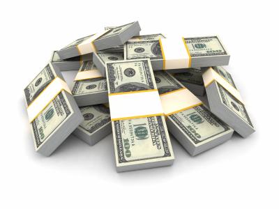 Five million dollars
