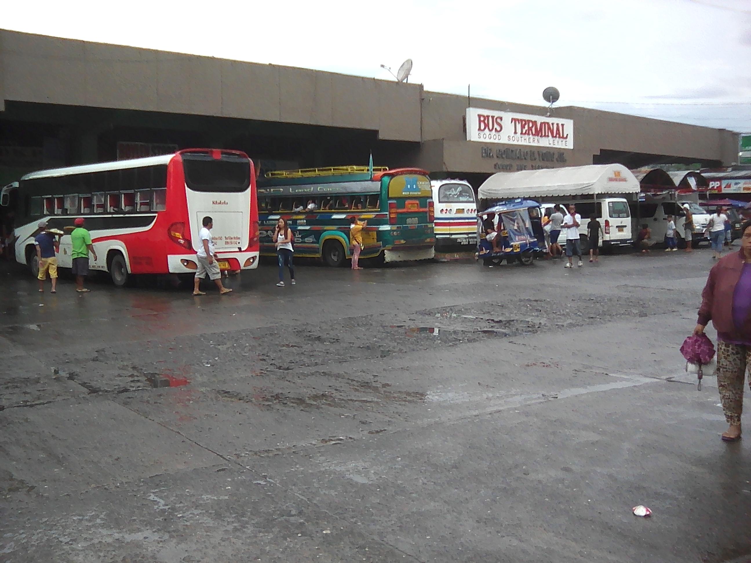 Bus terminal Sogod